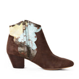"""Kay"" Ankle Boot w/ Stacked Heel"