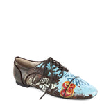 """Peggy"" Lace Up Flat"