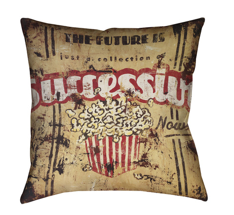 """Successive Nows"" Outdoor Throw Pillow"