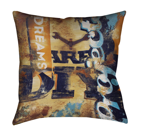 """Aren't You Crafty"" Outdoor Throw Pillow"