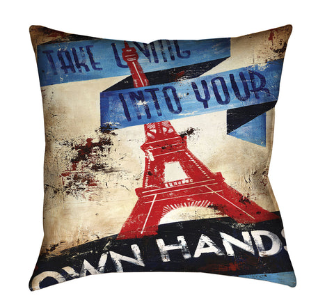 """One's Own Conditions"" Outdoor Throw Pillow"