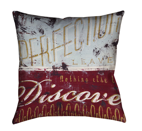 """Perfection Leaves"" Outdoor Throw Pillow"