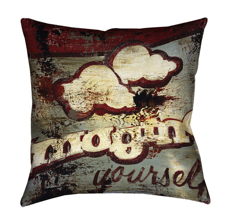 """The Possibilities"" Outdoor Throw Pillow"