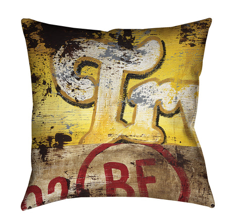 """Try 2 Be"" Outdoor Throw Pillow"