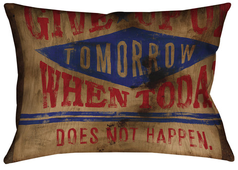 """Hope Remains"" Outdoor Throw Pillow"