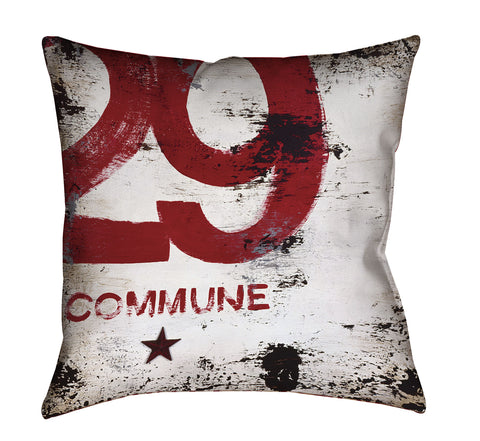 """Skillset Of An Elevated Mind: Commune"" Outdoor Throw Pillow"