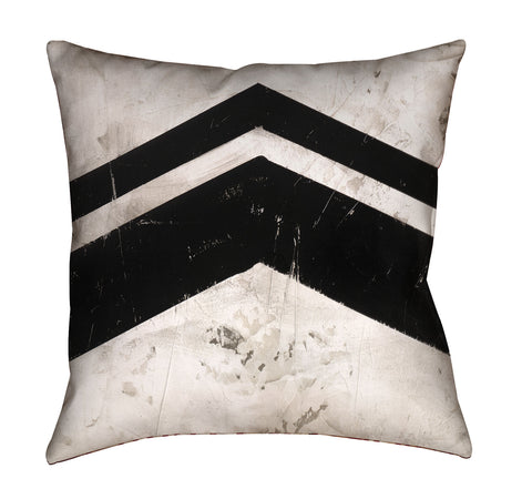 """Chevron 1"" Outdoor Throw Pillow"