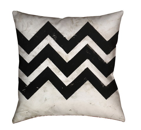 """Chevron 2"" Outdoor Throw Pillow"