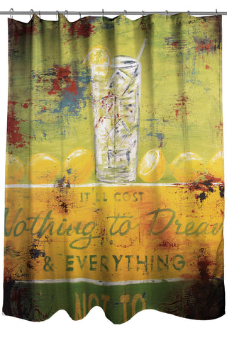 """Nothing To Dream"" Shower Curtain"