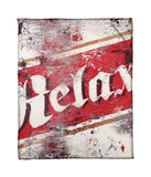 """Relax"" Fleece Throw"