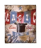 """Magic Moment"" Fleece Throw"
