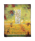 """Nothing To Dream"" Fleece Throw"
