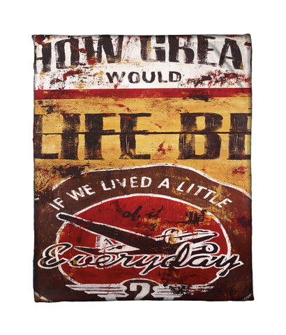 """How Great"" Fleece Throw"