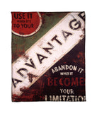 """Advantage"" Fleece Throw"