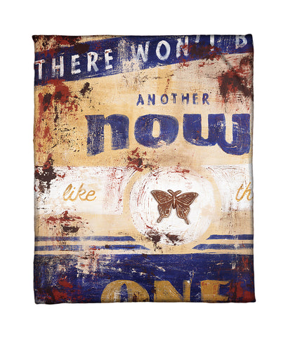 """Another Now"" Fleece Throw"
