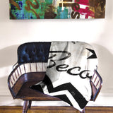 """In Flux"" Fleece Throw"