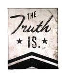 """Whether You Believe It Or Not"" Fleece Throw"