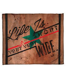 """Arms Wide Open"" Fleece Throw"