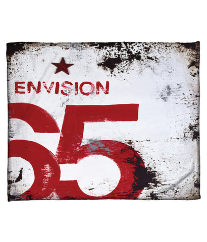 """Skillset Of An Elevated Mind: Envision"" Fleece Throw"