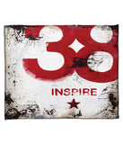 """Skillset Of An Elevated Mind: Inspire"" Fleece Throw"