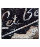 """The Path To Self: Let Be"" Fleece Throw"