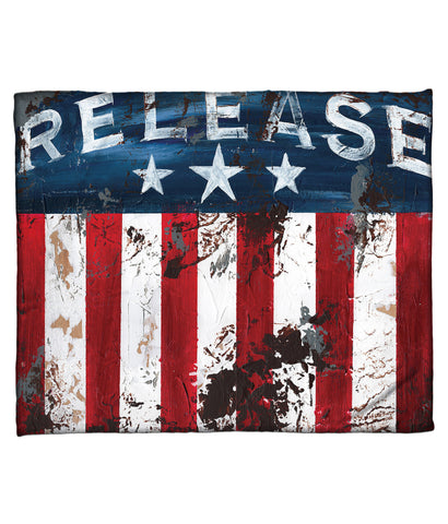 """Release"" Fleece Throw"