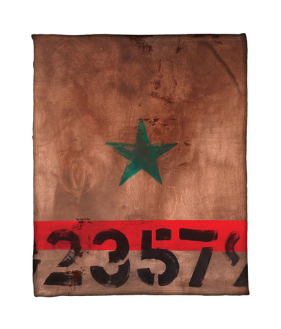 """STAR 023579"" Fleece Throw"