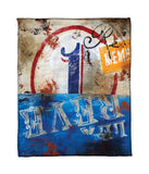 """1: La Reve"" Fleece Throw"