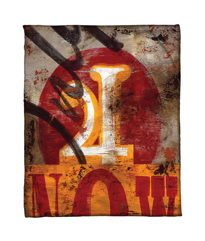 """4: Only For Now"" Fleece Throw"