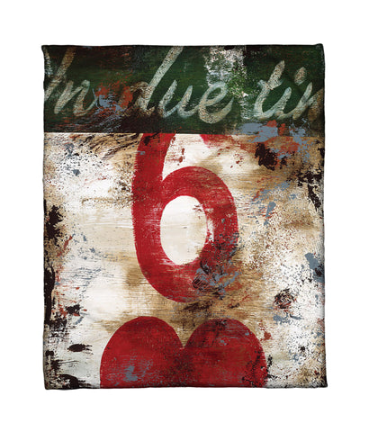 """6: In Due Time"" Fleece Throw"