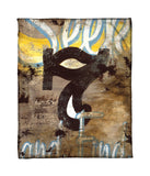 """7: Seek & Find"" Fleece Throw"