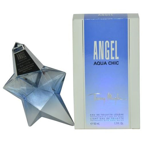 Angel Aqua Chic By Thierry Mugler Light Edt Spray 1.7 Oz (edition 2013 Packaging)