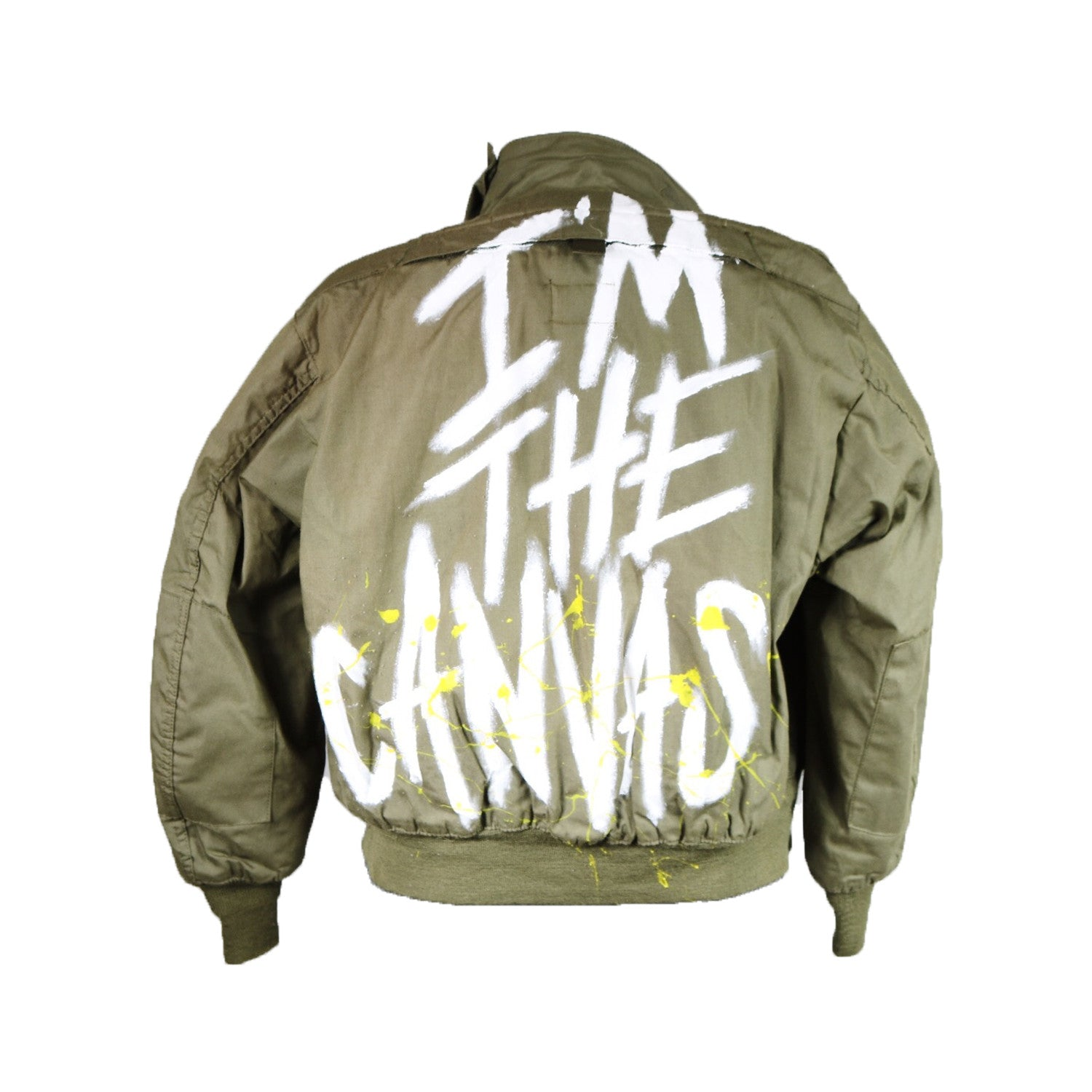 CANVAS BOMBER