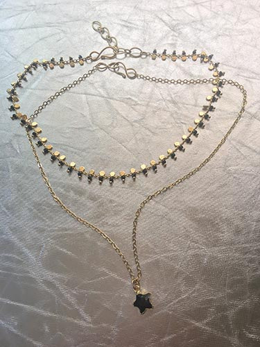 Night Fever Necklace Set
