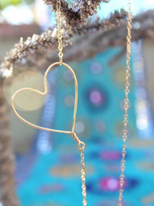 Heartbeat Heart Necklace