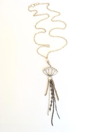 Rise Up Lotus Necklace