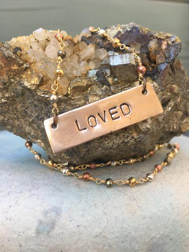 SO Loved Necklace