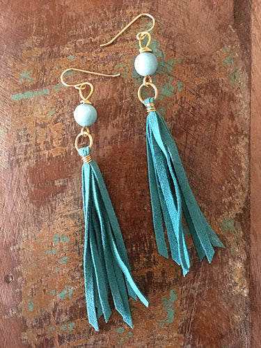 Tranquilty Tassel Earrings