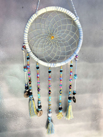 Denim Daze Dream Catcher