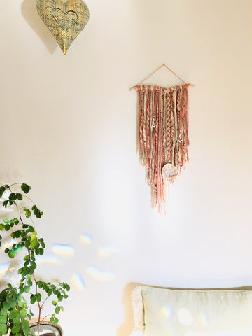 Blushing Seashell Wall Hanging