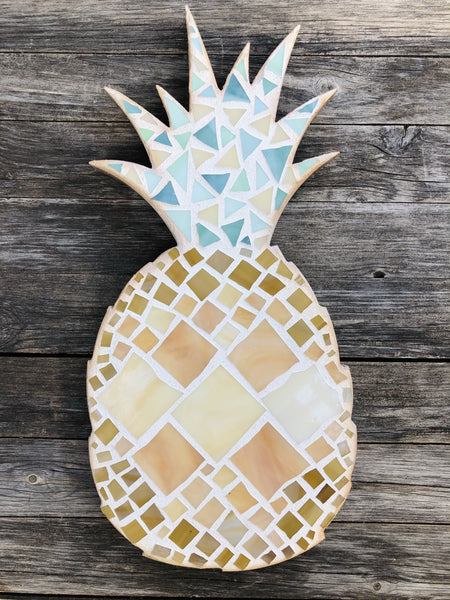Mosaic Pineapple Art