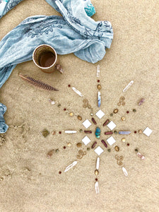 Jeweled Mandala Kit ~ GROUNDING