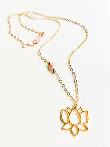Lotus Love Necklace