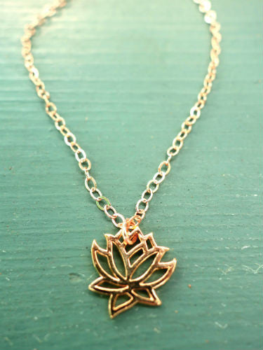 Small Gold Lotus