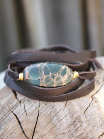 Good Energy Jasper Wrist Wrap