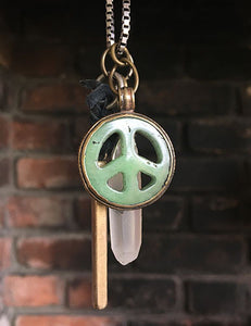 Healing Peace Necklace