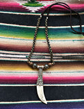 Tibetan Horn Necklace