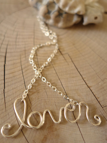 What a Lover Necklace