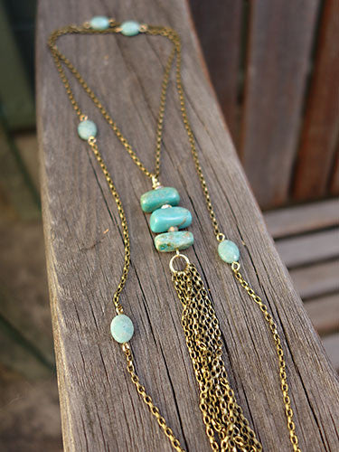 Bohemian Bloom Lariat