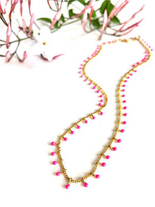 Pink Me Up Necklace